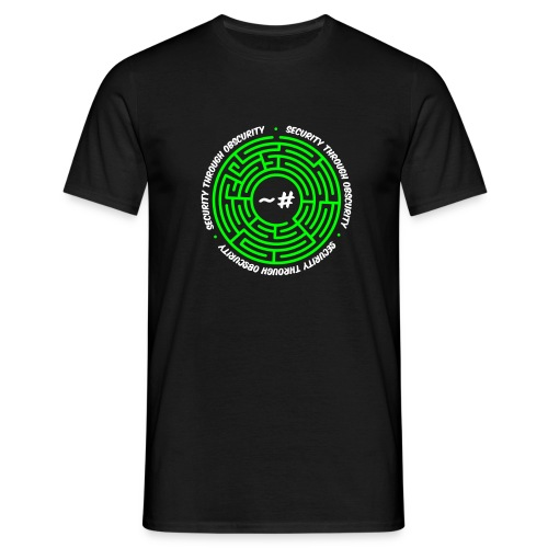 Security Through Obscurity - Men's T-Shirt