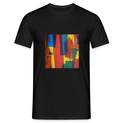 Abstract Primary - Men's T-Shirt
