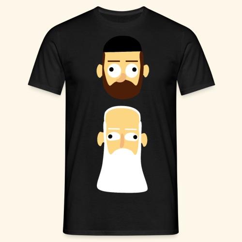 Stille Willem en Leipe Leo - Mannen T-shirt
