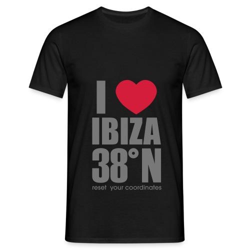 heartibiza 38north rg - Men's T-Shirt