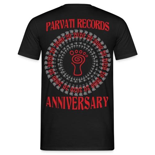 Parvati Records Anniversary - Men's T-Shirt