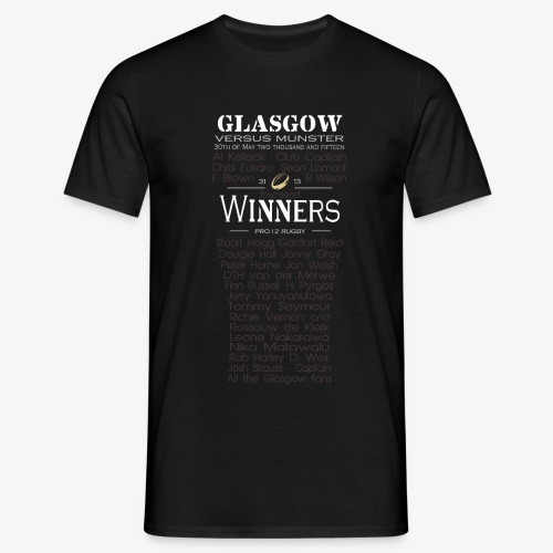PRO12 Winners Glass - Men's T-Shirt