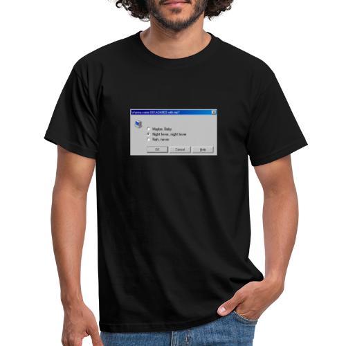 Dekadance im Nerd Retro Style! - Männer T-Shirt
