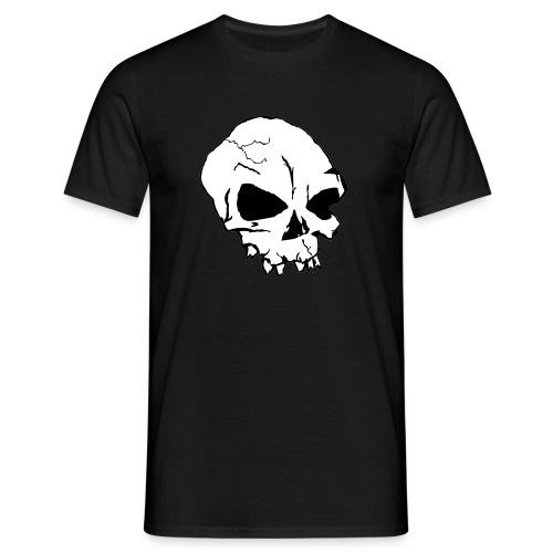 skull multicolor - T-shirt herr