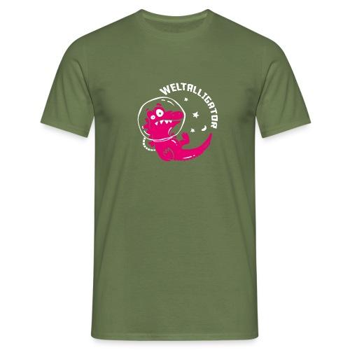 Weltalligator - Männer T-Shirt