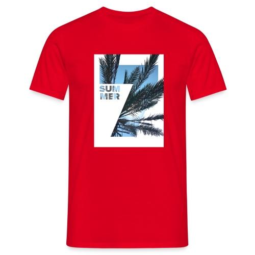 Summertime - Mannen T-shirt
