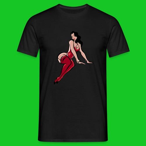 Pin up girl 3 - Mannen T-shirt