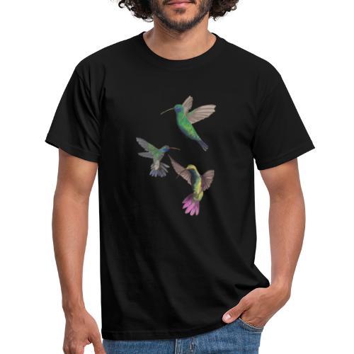 PLAYFUL birds - T-shirt herr
