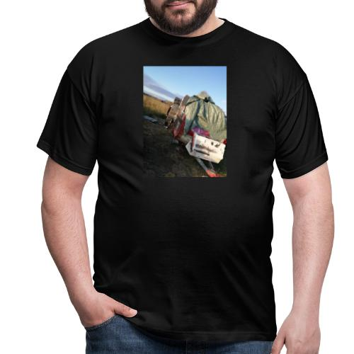 Kläder med vagnen på - T-shirt herr