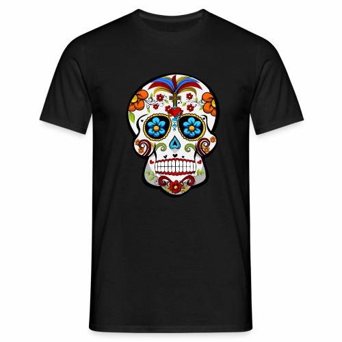 Calavera Blanca - Camiseta hombre