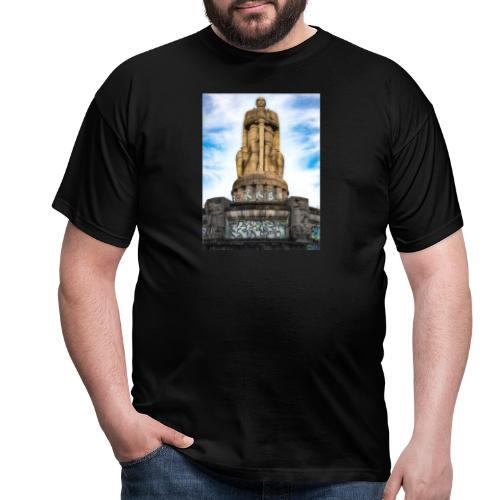 Hamburg Bismarkc Monument - Männer T-Shirt
