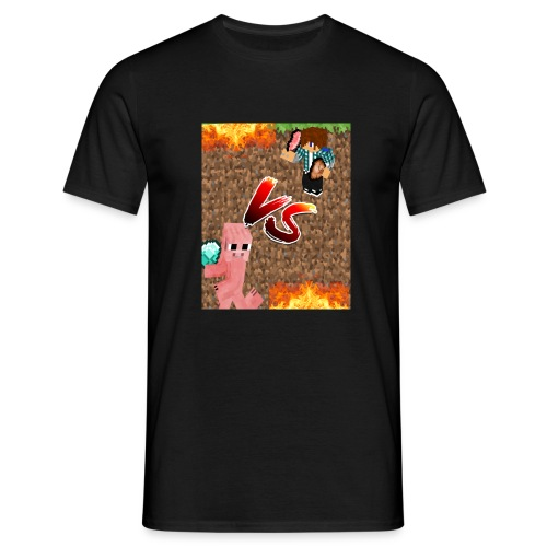 Simon vs. Schwein - Männer T-Shirt