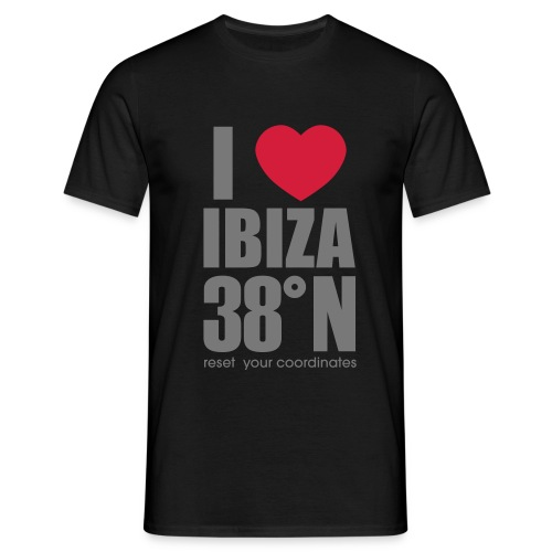 heartibiza 38north rg - Men's T-Shirt