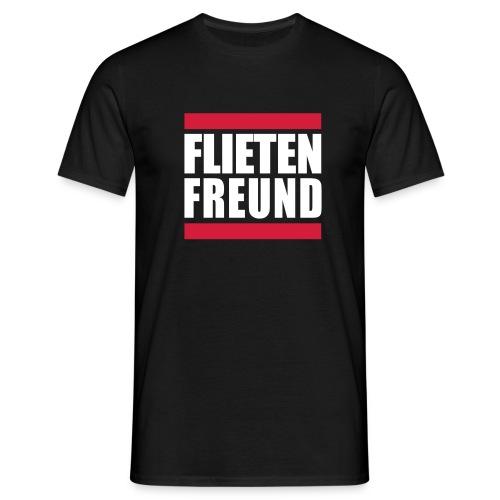 Flieten Freund - Männer T-Shirt