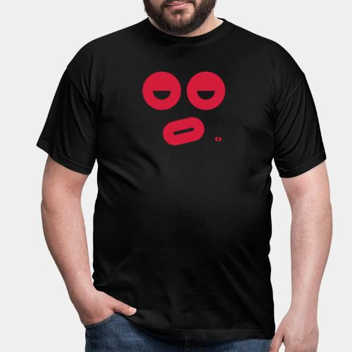 A-087 Smiley dicke Lippe - Männer T-Shirt