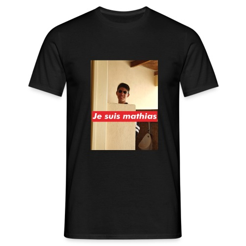 Je suis mathias modèle 2 - T-shirt Homme