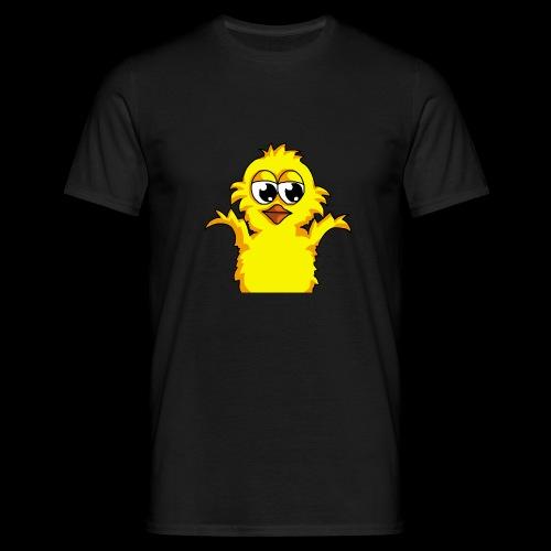 Shrug Küken - Männer T-Shirt