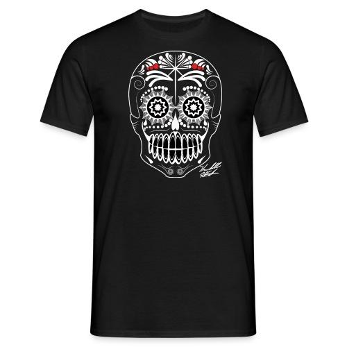 white skull - Men's T-Shirt