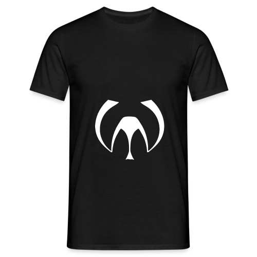W LOGO WHITE PNG 900x800 - Men's T-Shirt