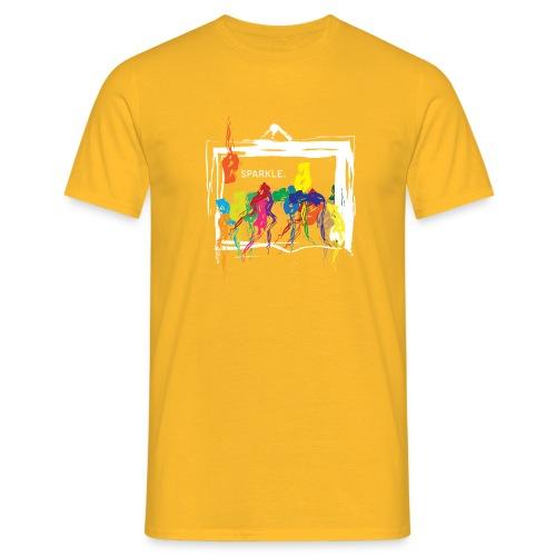 Sparkle White - Men's T-Shirt