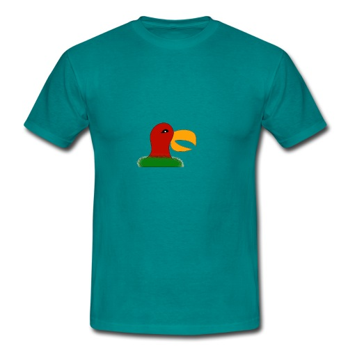 Parrots head - Men's T-Shirt