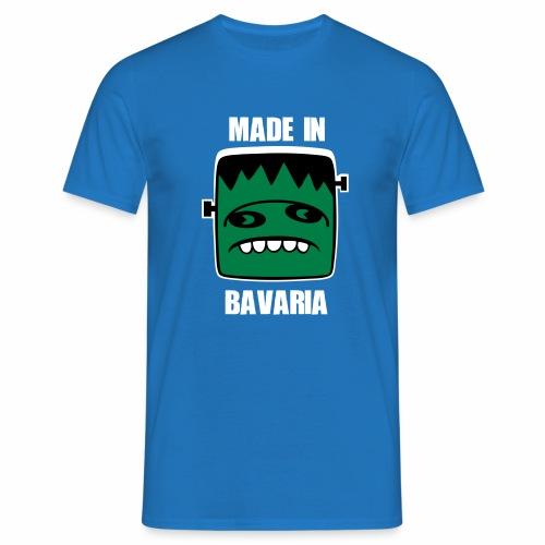 Fonster weiß made in Bavaria - Männer T-Shirt