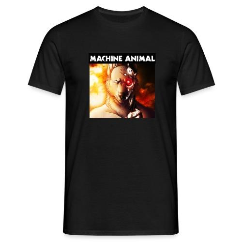 machineanimaltext01 jpg - Men's T-Shirt