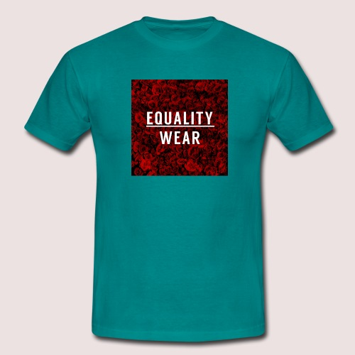 Equality Wear Rose Print Edition - Men's T-Shirt