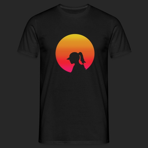 Gradient Girl - Men's T-Shirt