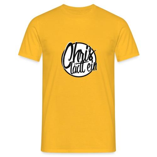 Chris lädt ein - Männer T-Shirt