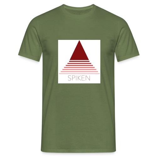spiken dreieck 1 jpg - Männer T-Shirt
