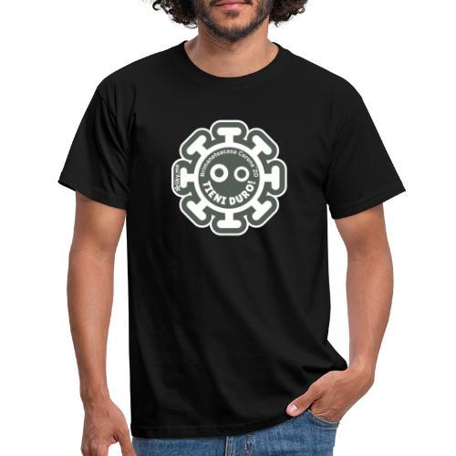 Corona Virus #rimaneteacasa grigio - Camiseta hombre