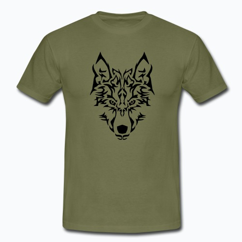 Tribal Wolf - T-shirt Homme