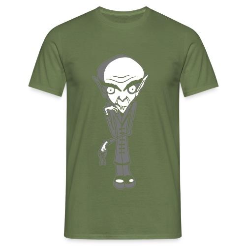 Nosferatu Black Background - Men's T-Shirt