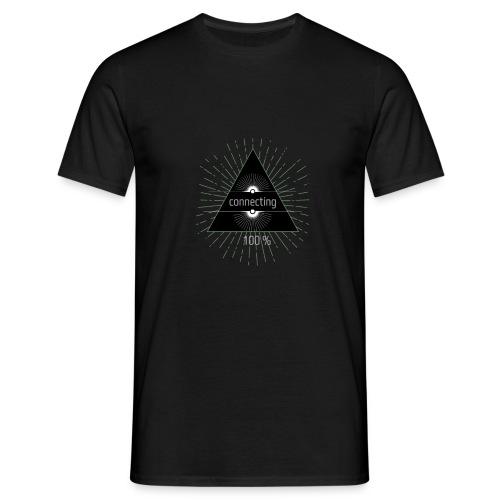 Conectando. - Camiseta hombre