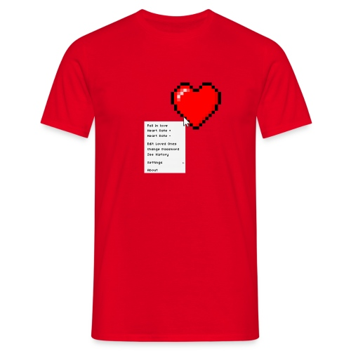 Options of the heart - Herre-T-shirt