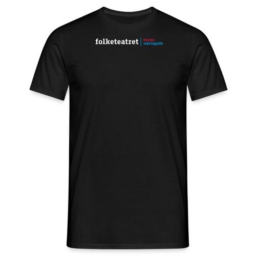 Folketeatret_t+n - Herre-T-shirt