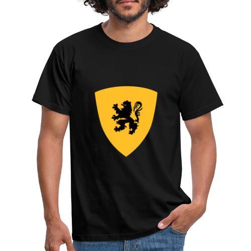 Le Lion de Flandre - Bouclier flamand - Flamand - T-shirt Homme