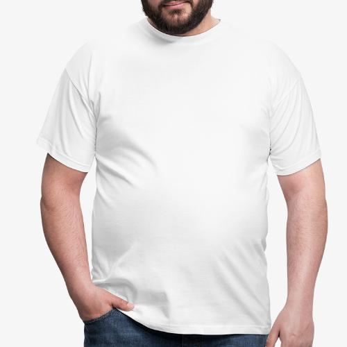 Schreckschraube_weiß - Männer T-Shirt