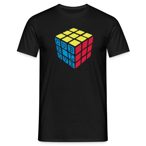 Cube Love - Men's T-Shirt