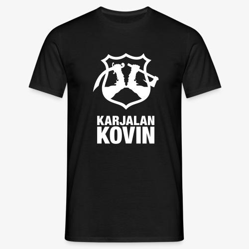 karjalan kovin pysty - Miesten t-paita