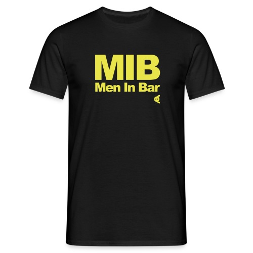 men in bar - T-shirt Homme