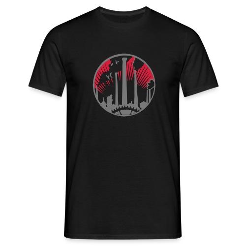 Industrial NATION Metropolis - Männer T-Shirt