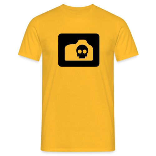 camera logo t shirt - Men's T-Shirt