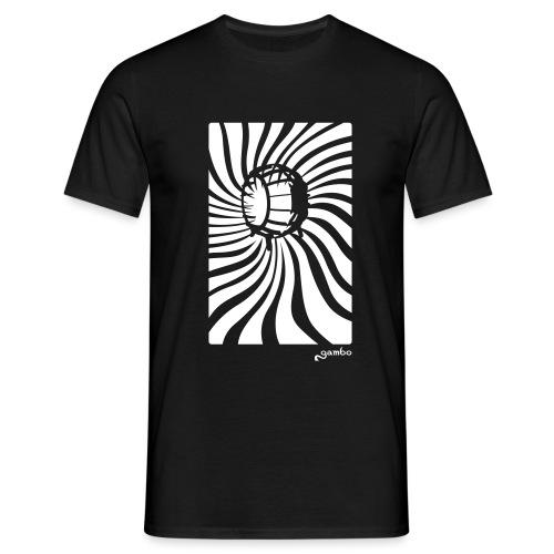 wirbel - Männer T-Shirt