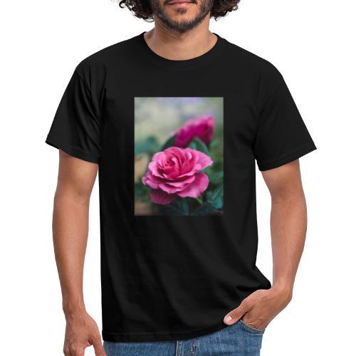 Flor. - Camiseta hombre