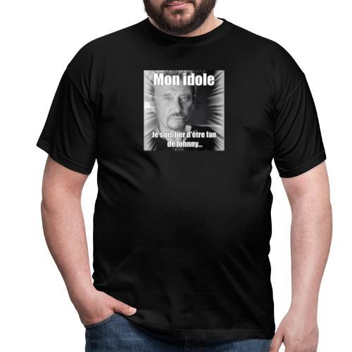 Mon idole Johnny Hallyday - T-shirt Homme