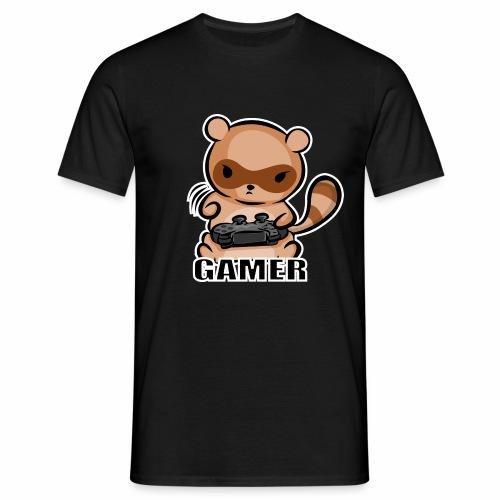 Tanuki Gamer - Camiseta hombre