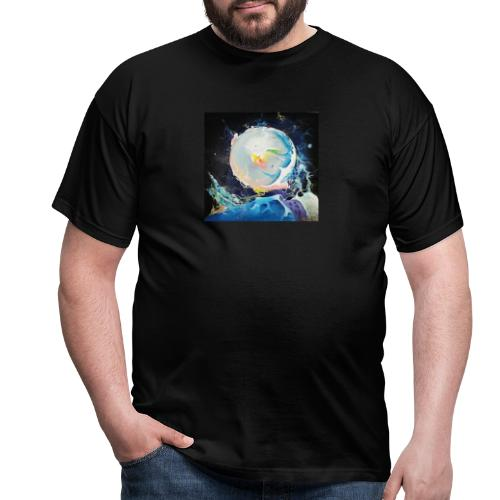 The Life original painting - Men's T-Shirt