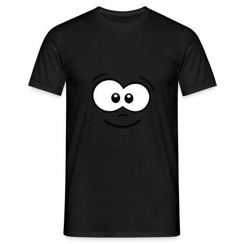 Gesicht fröhlich - Männer T-Shirt